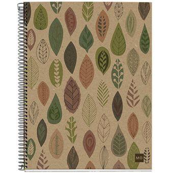 Caderno Pautado Miquelrius Ecohojas A5