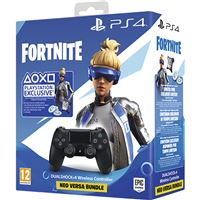 Comando Sony DualShock 4 V2 Black + Fortnite