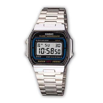 Casio Relógio Collection A164WA-1VES (Prateado)