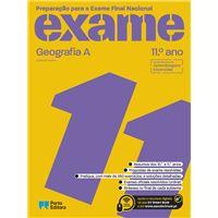 Preparação para o Exame Final Nacional - Geografia A - 11.º Ano