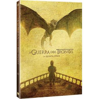 Guerra dos Tronos - 5ª Temporada - DVD - Game of Thrones Season 5