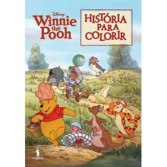 Winnie the Pooh - História para Colorir