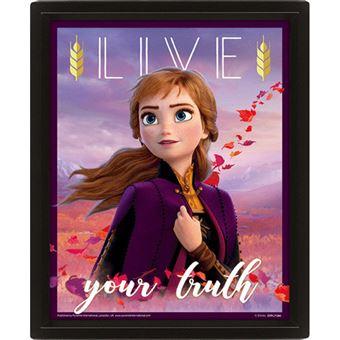 Poster 3D Lenticular Frozen 2