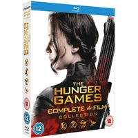 The Hunger Games - Complete 4 Film Collection - 4Blu-ray Importação