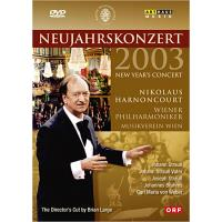 VARIOS-NEW YEAR'S CONCERT 2003(DVD)