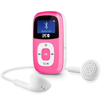 Leitor MP3 SPC Firefly 8668 - 8GB - Pink