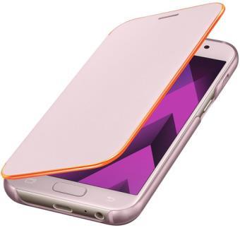 Capa Flip Samsung Neon para Galaxy A3 2017 - Rosa