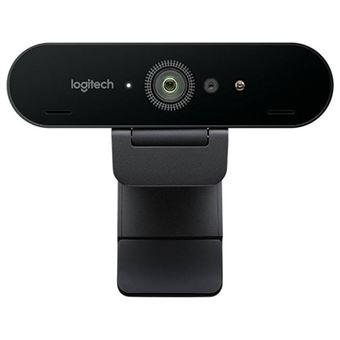 Webcam Logitech Brio 4K - Preto