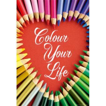 Puzzle Colour Your Life - 500 Peças - Educa