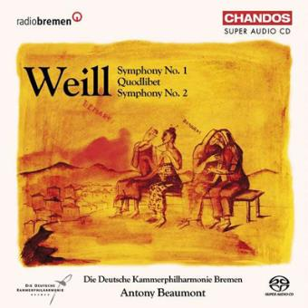 Symphony No.1&2/quodlibet