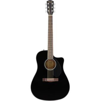 Guitarra Elétrica Acústica CD-60SCE BLK Fender