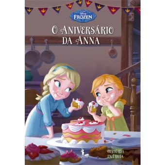 Frozen: Histórias Inéditas - Livro 10: O Aniversário da Anna