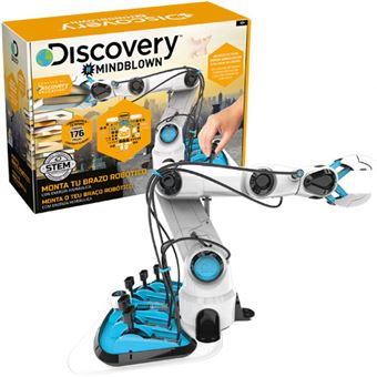 Monta o teu Braço Robóticom - Discovery