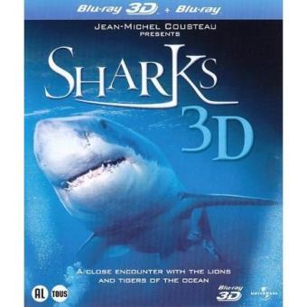 Sharks (Blu-ray 3D + 2D)