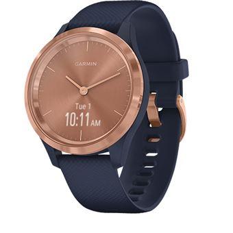 Relógio Desportivo Garmin Vivomove 3S - Rosa Dourado | Azul