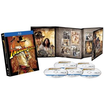 Indiana Jones: The Complete Adventures - 5Blu-ray Importação