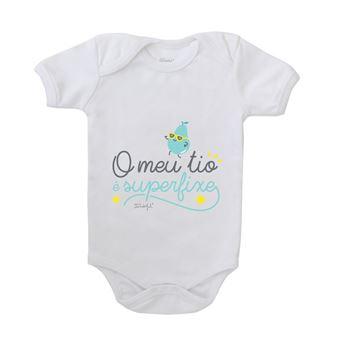Body para Bebé Mr. Wonderful - O Meu Tio é Superfixe