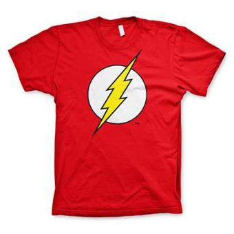 The Flash - Emblem T-Shirt Red (L)
