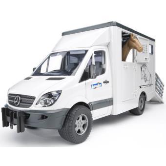 Carro de Transporte de Cavalos - Mercedes