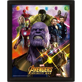 Poster 3D Lenticular Avengers Infinity War: Gauntlet