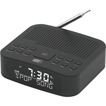 Rádio Relógio DCYBEL CR400 DAB+ - Preto