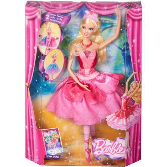 Boneca Barbie e as Sapatilhas Mágicas Barbie Bailarina