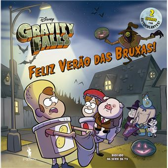 Gravity Falls - Livro 2 em 1: Feliz Verão da Bruxas
