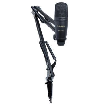 Microfone de Condensador USB com Suporte Articulado
