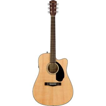Guitarra Elétrica Acústica CD-60SCE NAT Fender