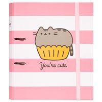 Dossier de 2 Argolas Pusheen the Cat, Rose Collection - You're Cute