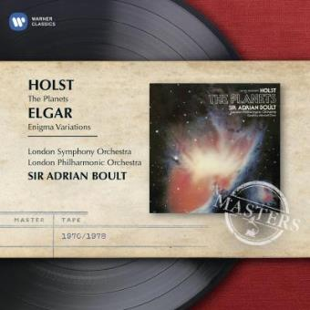 Sir Adrian Boult conducts Elgar & Holst