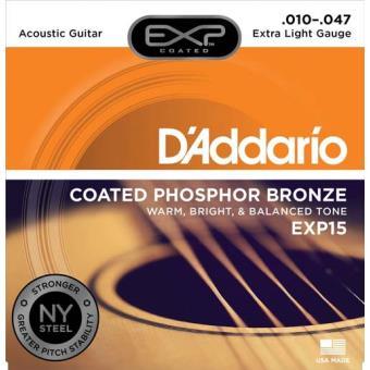 Jogo de Cordas para Guitarra Acústica EXP15 010-047
