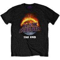 T-shirt Black Sabbath: The End - Tamanho L