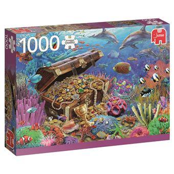 Puzzle Under Water Treasure - 1000 Peças