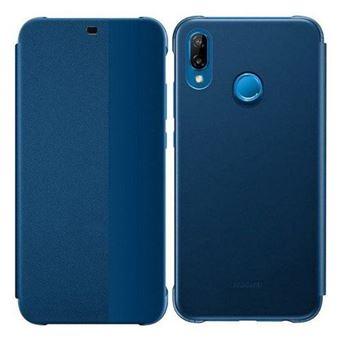 Capa Flip Huawei para P20 Lite - Azul