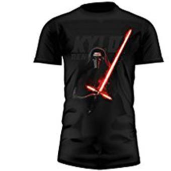 T-Shirt-Star Wars-Kylo Saber (L)