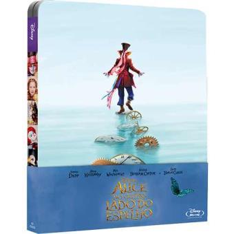 Alice do Outro Lado do Espelho - Caixa Metálica (Edição Exclusiva Fnac)