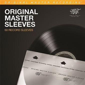 Capa Antiestático Mofi Original Master Sleeves - 50 uni