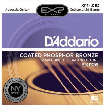 Jogo de Cordas para Guitarra Acústica T EXP26 011-052