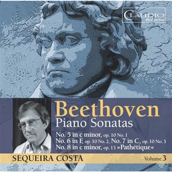 Beethoven: Piano Sonatas Vol 3 - CD