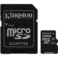 Cartão microSDHC Kingston Canvas Select Classe 10 - 128GB