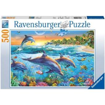 Puzzle Esconderijo do Golfinho - 500 Peças