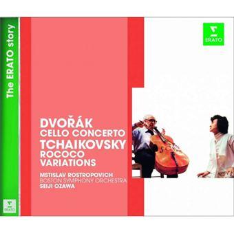 Dvořák: Cello Concerto & Tchaikovsky: Rococo Variations - CD