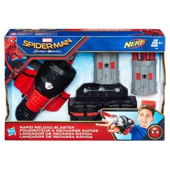 Nerf Spider-Man Rapid Reload Blaster - Hasbro