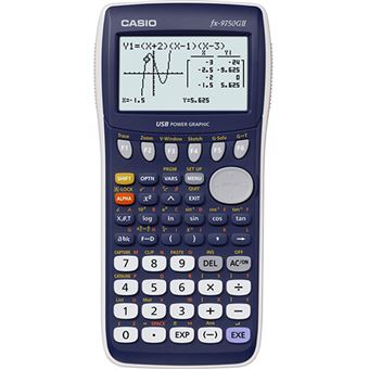 how to use a casio graphing calculator fx-9750gii