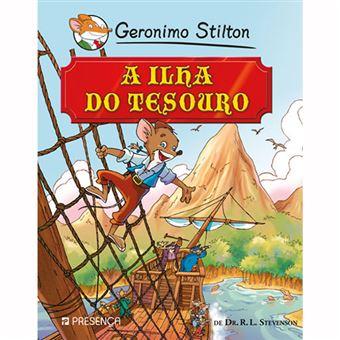 Geronimo Stilton: Ilha do Tesouro de  Dr. R. L. Stevenson