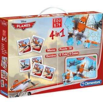 Edu Kit 4 em 1 Planes