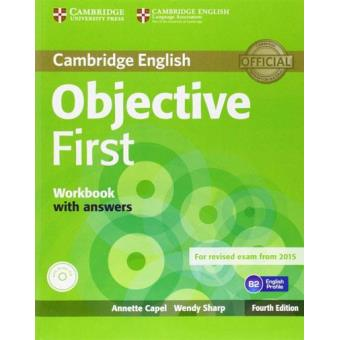 Cambridge English: Objective First - Workbook With Answers + Audio CD
