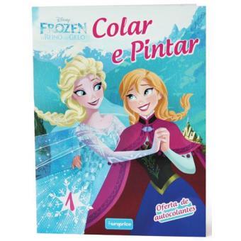 Colar E Pintar Frozen Livro 1 Varios Compra Livros Na Fnac Pt