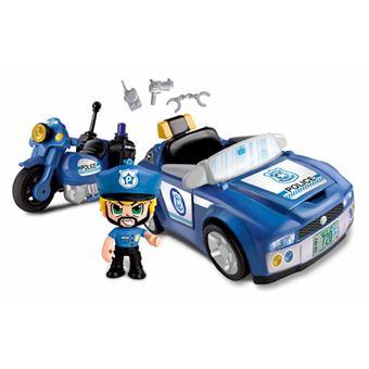 Pinypon Super Veículos de Ação da Polícia - Famosa